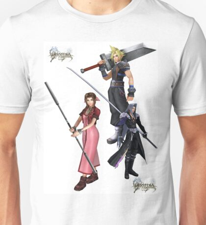 Dissidia 012 Reports Final Fantasy Characters 2 Unisex T-Shirt