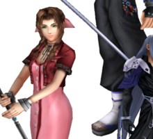 Dissidia 012 Reports Final Fantasy Characters 2 Sticker