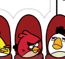 Anger Management - Angry Birds Sticker