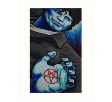 blue ramirez Art Print