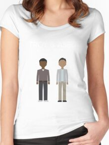 Troy & Abed in the Morning Women's Fitted Scoop T-Shirt