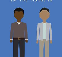 Troy & Abed in the Morning by mawalie