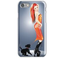 Naughty Pup  iPhone Case/Skin