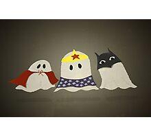 Ghost Superhero Cosplay Photographic Print