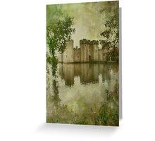 Bodiam Castle Greeting Card