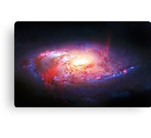 Spiral Galaxy, space, astronomy, colorful Canvas Print