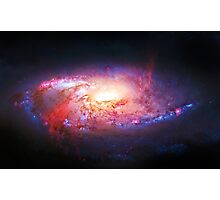 Spiral Galaxy, space, astronomy, colorful Photographic Print