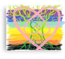 Earth Oak Sky Healing Canvas Print