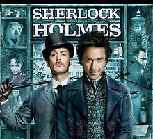Sherlock Holmes iPhone Case by kat1903