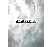 Spotless mind Photographic Print