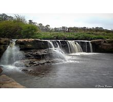Waterfall: take 2 Photographic Print