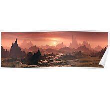 Bryce 3D Landscape Poster