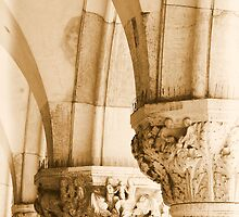 Basilica Venice Arch detail by designed2dazzle