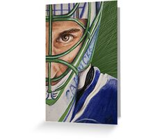 Roberto Luongo Greeting Card
