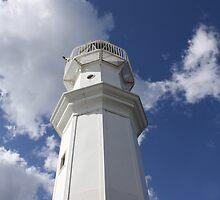 Newhaven Lighthouse, Edinburgh by Katherine Case