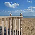 View from the beach hut by Peter Barnes