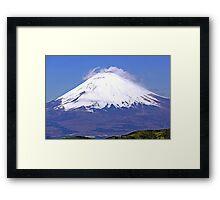 Mount Fuji in Japan Framed Print