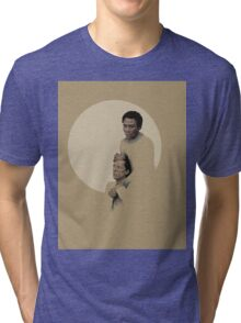 Troy and Abed being sad Tri-blend T-Shirt