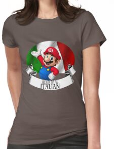 Proud to be Italian Womens Fitted T-Shirt