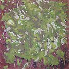 Lichen on Tree Bark-PPML0014 by Pat - Pat Bullen-Whatling Gallery