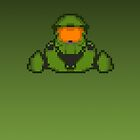 Master Chief Pixelated by Jimzydoodah