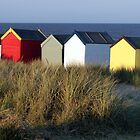 Southwold Beach Huts, Suffolk by Peter Barnes
