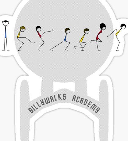 Sillywalks Academy Sticker