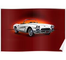 1962 Corvette w/o ID Poster