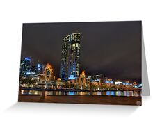 Crown Casino Flames Greeting Card
