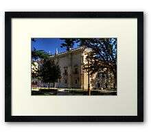 Colegio de Santa Cruz Framed Print