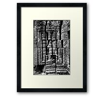 Fractured, Cambodia Framed Print