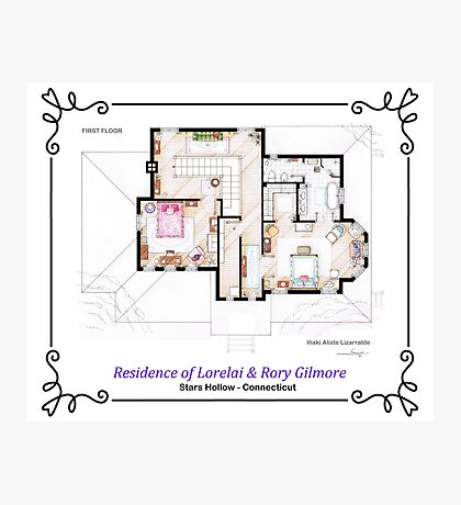 House of Lorelai & Rory Gilmore - First Floor Photographic Print