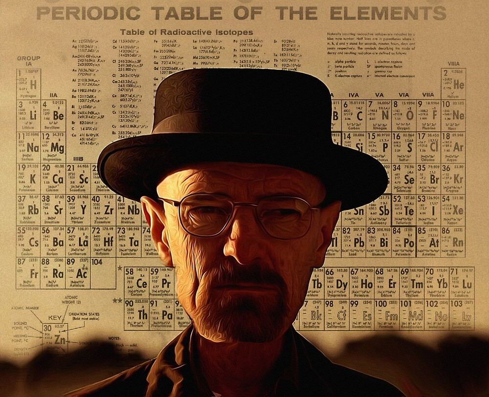 Heisenberg by Bill Cannon