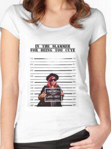 Mia Von Glitz - Too Cute Women's Fitted Scoop T-Shirt