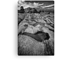 Granite Overflow 2 Canvas Print