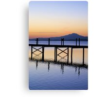 Boardwalk Sunrise Canvas Print