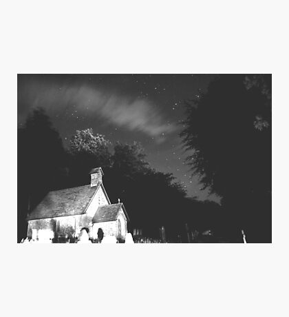 spooky nights,night sky Photographic Print