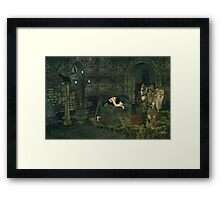 The Mourning Angel Framed Print