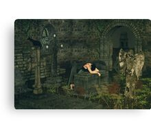 The Mourning Angel Canvas Print