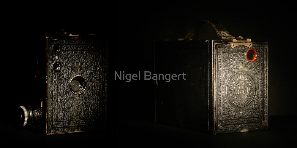 Box Brownie by Nigel Bangert