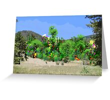 ACEO Landscape Fantasy Forest 3 Greeting Card