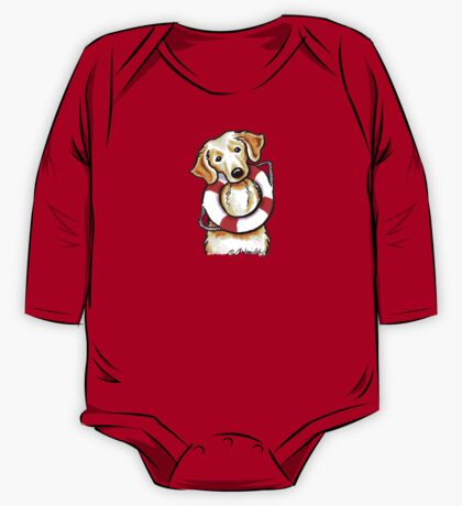 Golden Rescue One Piece - Long Sleeve