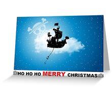 ho ho ho merry Christmas one piece Greeting Card