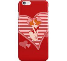Valentine Pin Up iPhone Case/Skin