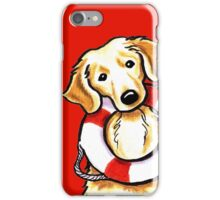 Golden Rescue iPhone Case/Skin