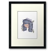 Flower Girl - Lavender Framed Print