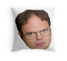 Dwight Shrute from The Office Throw Pillow