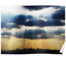 Late afternoon in New York City  Poster