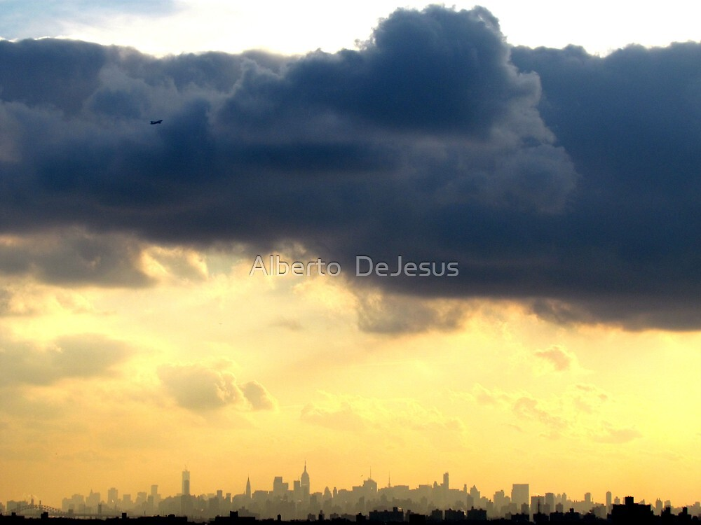 Late afternoon in New York City  by Alberto  DeJesus