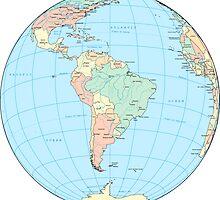WORLD GLOBE by ghjura